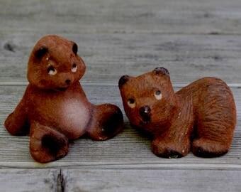 Vintage Bear Figurines