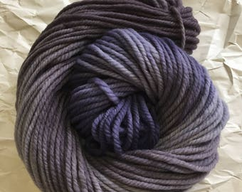 SALEmerino chunky - grey lavender