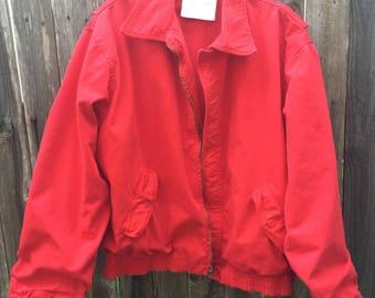 Vintage ACA Joe Red Jacket Size M/L