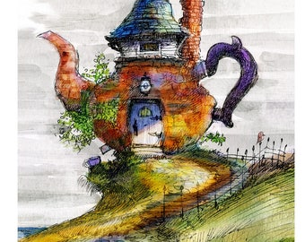 Victorian Teapot home