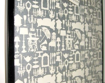 MERCANTILE.. Magnet Dry Erase Steel Memo Board / Housewarming Gift / Office Decor / Organization / Desk / Coworker Gift / Message Board