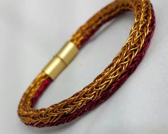 Viking Knit Split Bangle