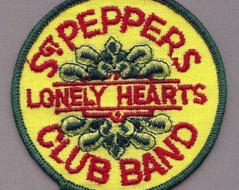 Orig 1968 YELLOW SUBMARINE Sgt Pepper Embroidered Patch