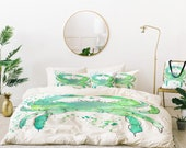 Bed in a Bag - Seafoam Green Crab
