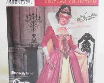 Elizabethan gown and cape pattern