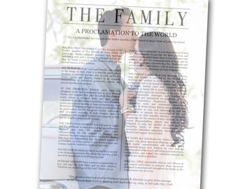 The Family Proclamation faded background