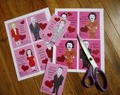 Political Circus Valentines