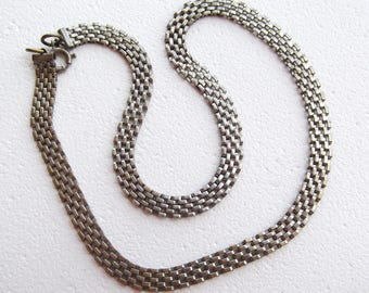 Vintage Choker Chain Steampunk Chain Necklace
