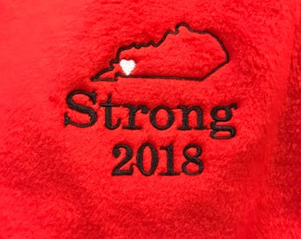 Kentucky Strong 2018 embroidery file