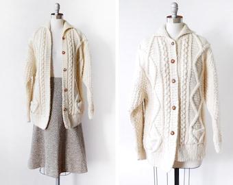 Wool cardigan | Etsy