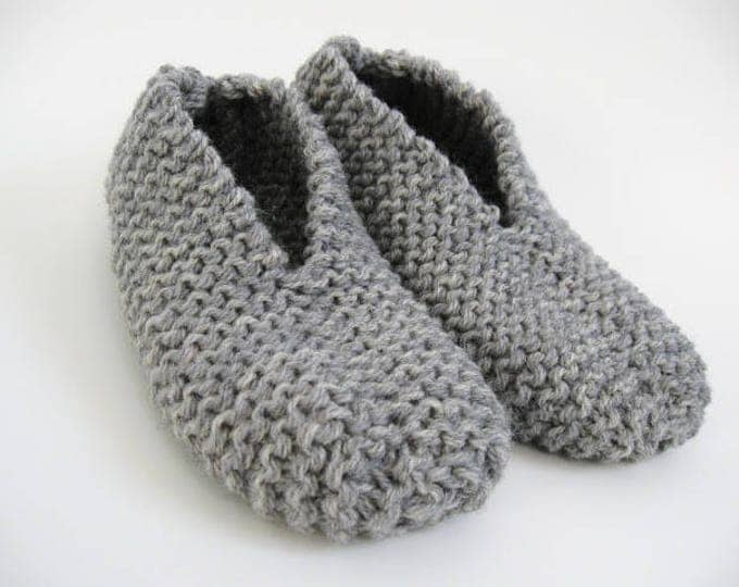 Featured listing image: Knitting Kit: Easy Slippers