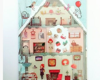 Dollhouse Home Stickers