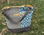 Design a custom Bonnie Bucket Bag   Handmade Shoulder Bag   Custom Purse   Hobo Bag