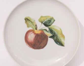 plato manzana