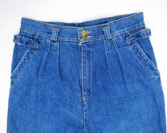 BLUE NOTE // 80s or early 90s high waist mom jeans