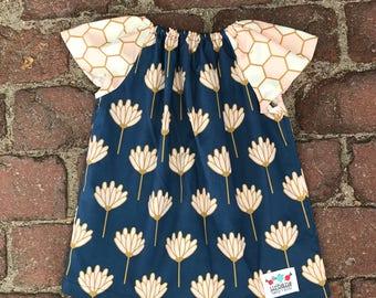 Lotus Peasant Dress
