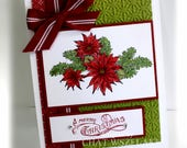 Christmas Card- Stampin' Up A Merry Christmas