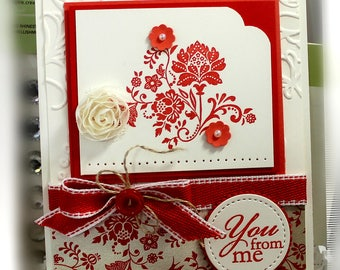 Friendship Card- Stampin' Up To You From Me