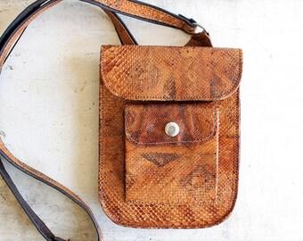 mini crossbody bag snakeskin purse