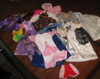more barbie clothes and barbie type  doll clothes