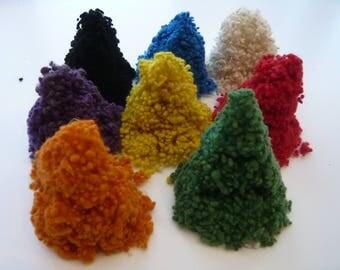 Heidifeathers Wool Nepps Mix - 8 Colours