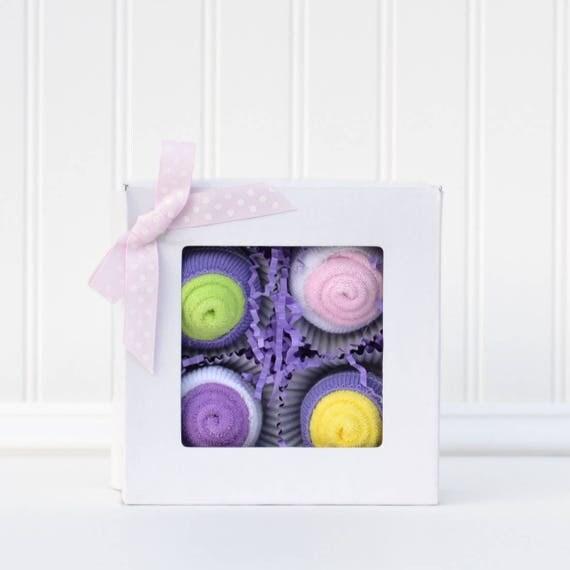 Baby Girl Layette Gift, Newborn Set Girl, Newborn Girl Shower Gift, Corporate Baby Gifts, New Mom Gift Ideas, Baby Washcloth Cupcakes,