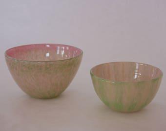 Blown Glass - Watermelon Bowl (Larger)