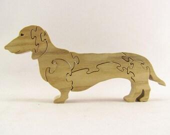 Daschund Dog Puzzle
