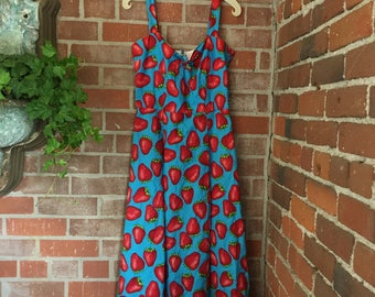 Strawberry Sun Dress