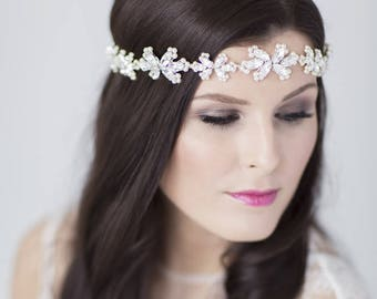 Honour bridal halo headdress