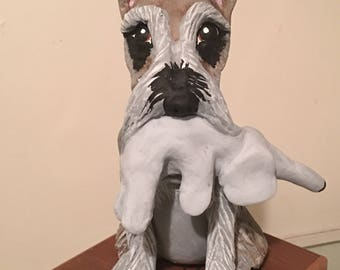 Custom  Dog Sculpture