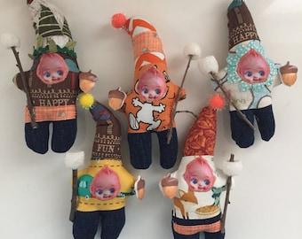Happy Camper Kewpie Dolls