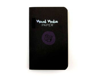 Personal Size Mixed Media Paper Prima Traveler's Journal Refill Notebook PTJ (630454)