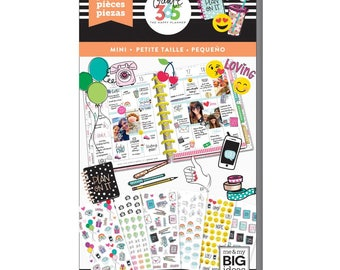 Tiny Icons Create 365 Happy Planner Sticker Value Pack (1508/Pkg) Me & My Big Ideas (PPSV-61-3048)