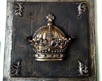 Wall Crown Decor crown decor | etsy