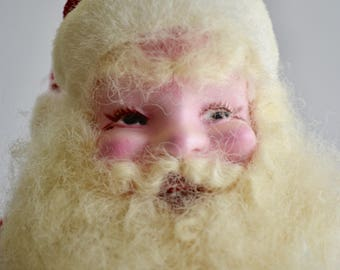 Vintage Christmas Santa Claus Doll Harold Gale Style Retro Santa Claus