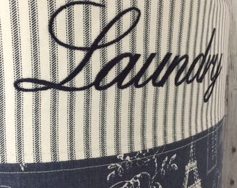 Laundry Hamper, Baby Hamper, Storage bin, Toy Storage, French Laundry