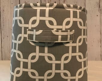 Closet Organizer Bin, Shelf Storage Bins, Fabric Storage Bins, Closet system, choose your size in Gotcha Storm