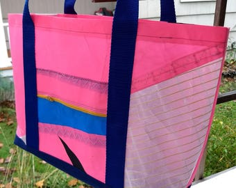 Windsurfing sail tote #6 - repurposed and waterproof