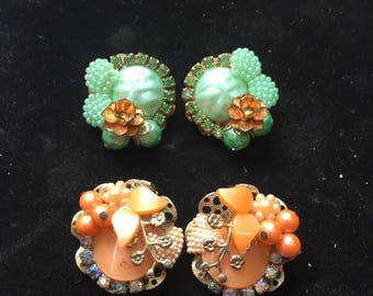 Kit earrings (2pr)