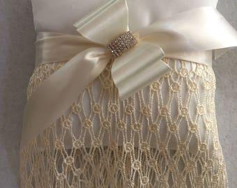 Wedding Accessory Bridsl Accessory Ring Bearer Pillow
