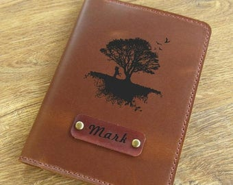 Sale 20% off - Leather passport cover, passport wallet, passport holder, passport wallet, travel wallet, personalized gift