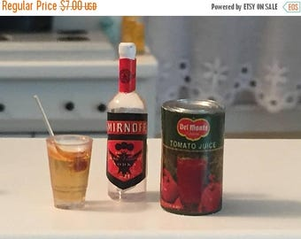 Miniature Food & Spirits