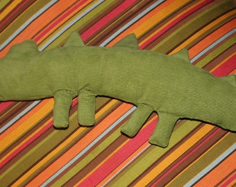 Corduroy Crocodile Plush