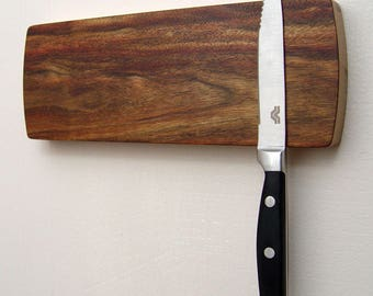 Magnetic Knife Rack, Wall Mounted Knife Holder, Magnetic Knife Holder,  Wooden Knife Organizer