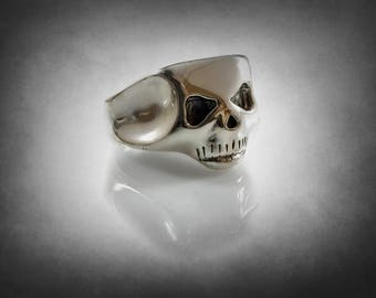 IGGY  Skull Ring solid sterling silver 925 1/1 form the album cover