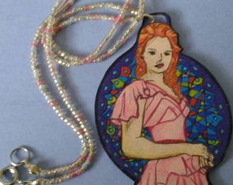 harry potter hermoine necklace