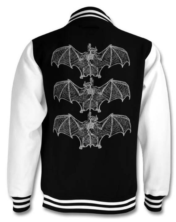 Bat Bones varsity jacket