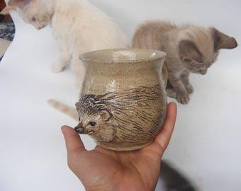 Hedgehog Mug No. 8