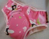 Women's Organic Cotton Underwear with Lace Elastics - Size Medium